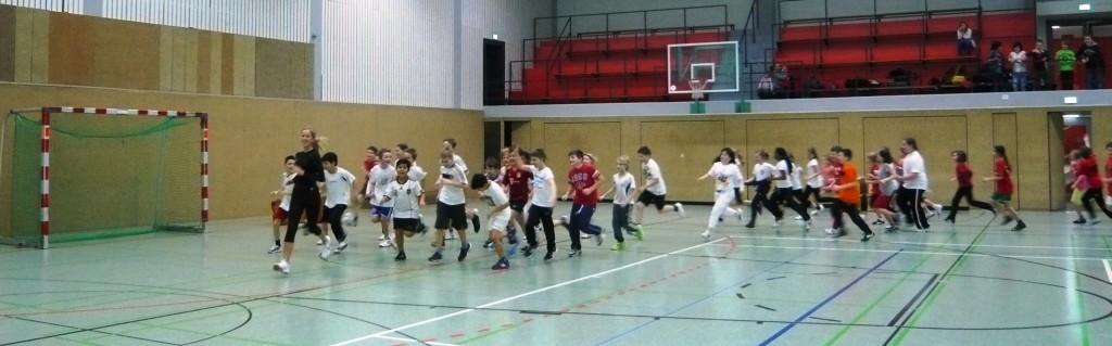 Sport-Spielenachmittag
