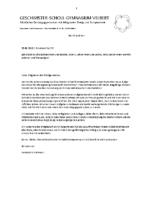 Schulbrief Nr. 56