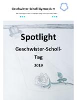 Spotlight Geschwister Scholl Tag 2019 – neu