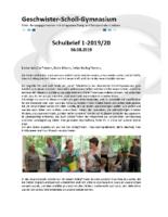 Schulbrief August 2019