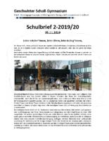 Schulbrief November 2019