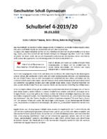 Schulbrief März 2020